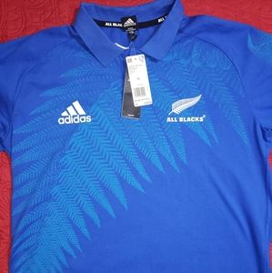Adidas Rugby All Blacks polo